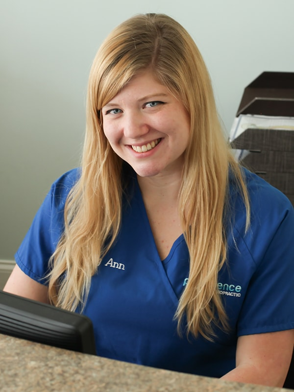 Meet Mary Ann at Providence Chiropractic