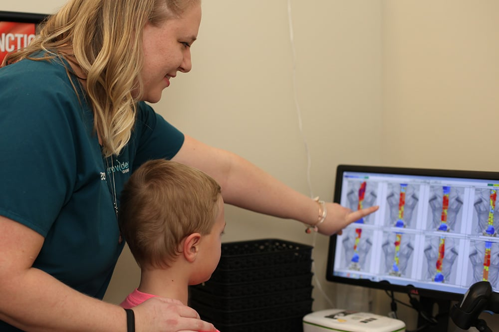 Thermography diagnostics at Providence Chiropractic
