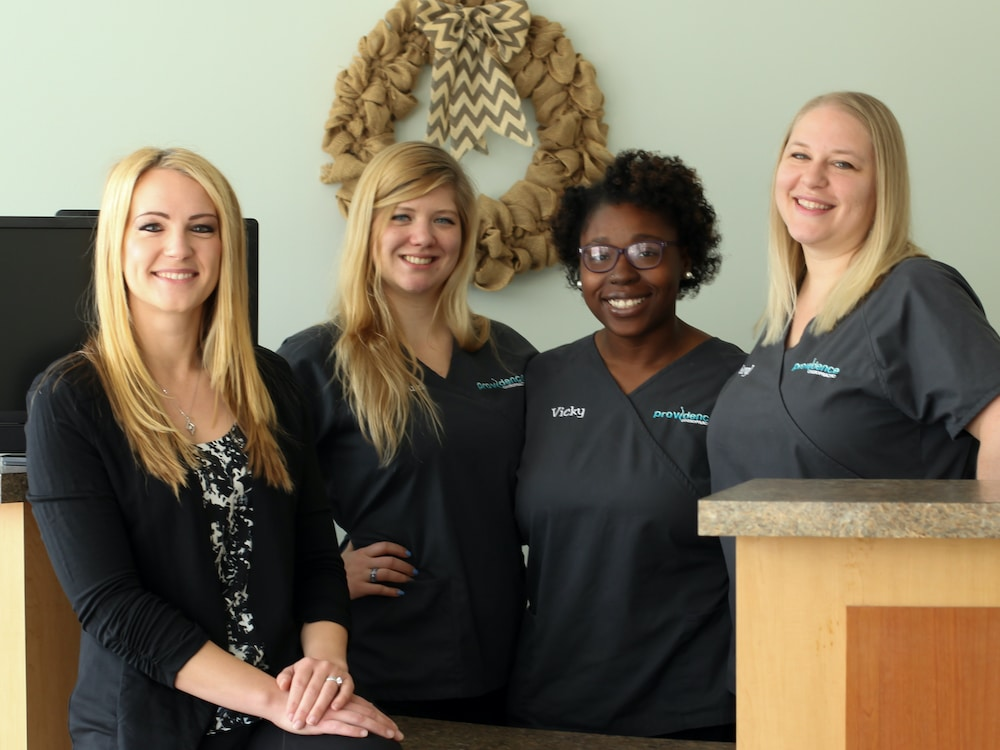 Fort Mill Chiropractor Team Photo